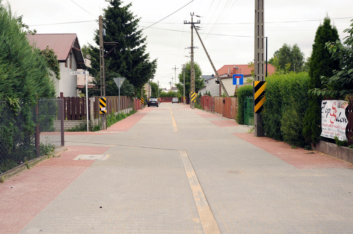 Przebudowa ul. Krótkiej i Strażackiej w Lesznie